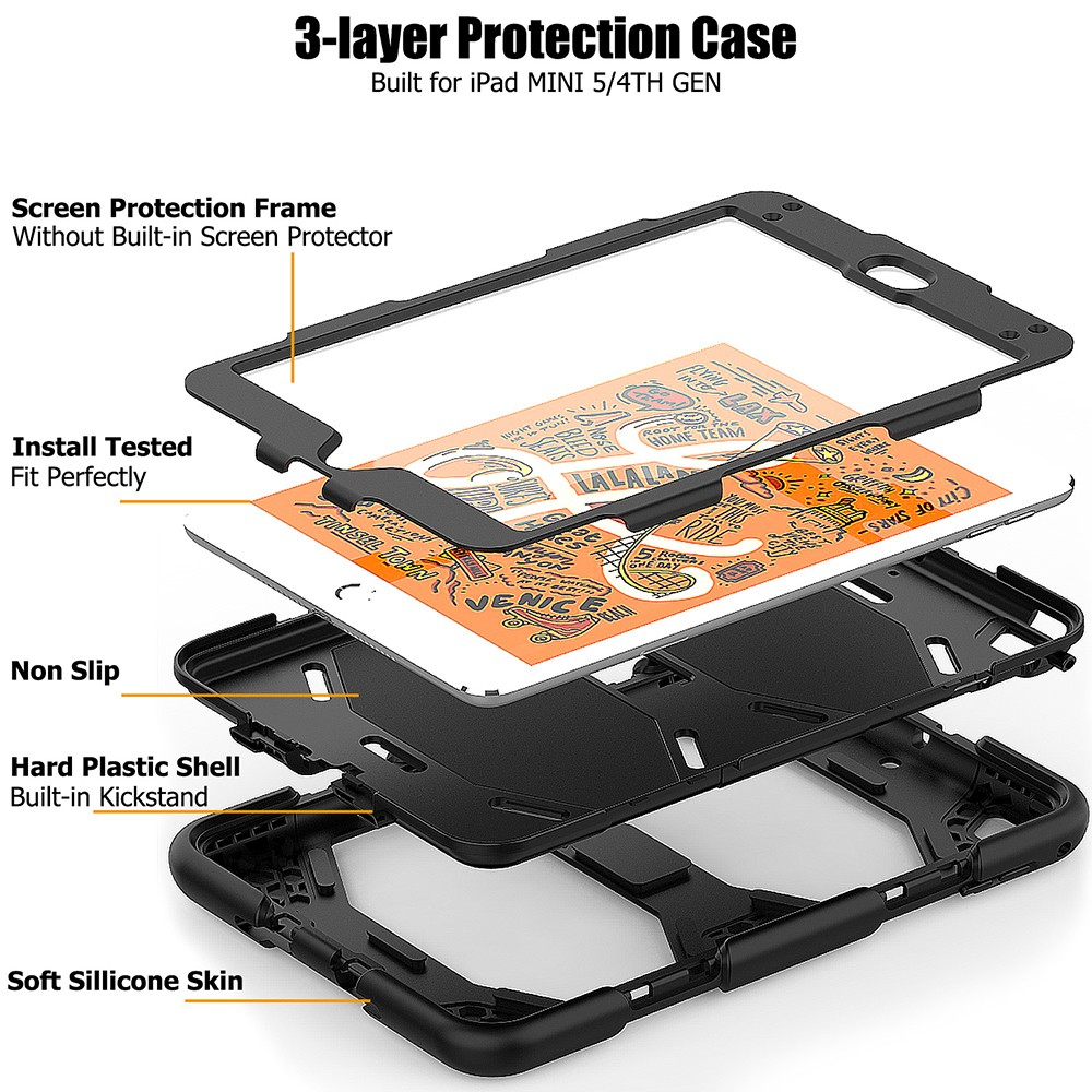 iPad mini5 3 in 1 case