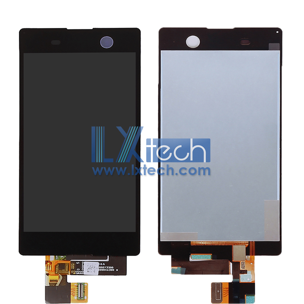 Sony M5 LCD Complete Screen Black