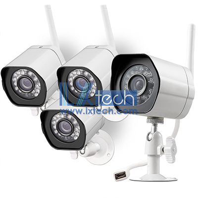 HD Outdoor WiFi IP Cameras